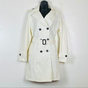 Maxmara Double Breasted Trench Coat Jacket Sz 3XL